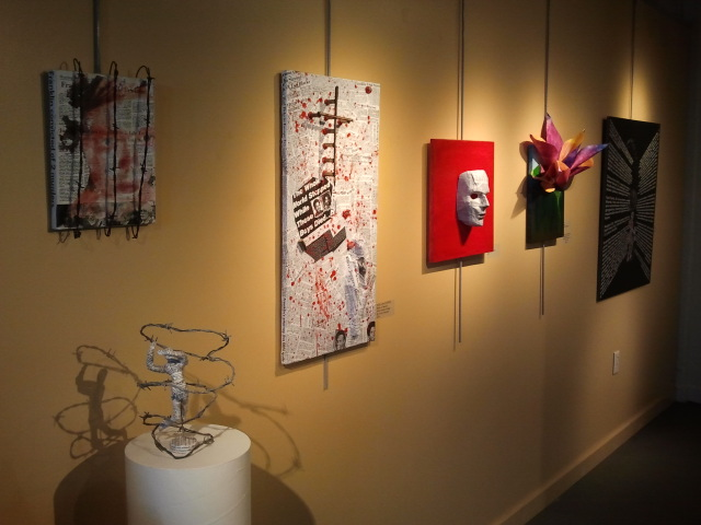 Curated By Brolly Arts and Art Access Gallery