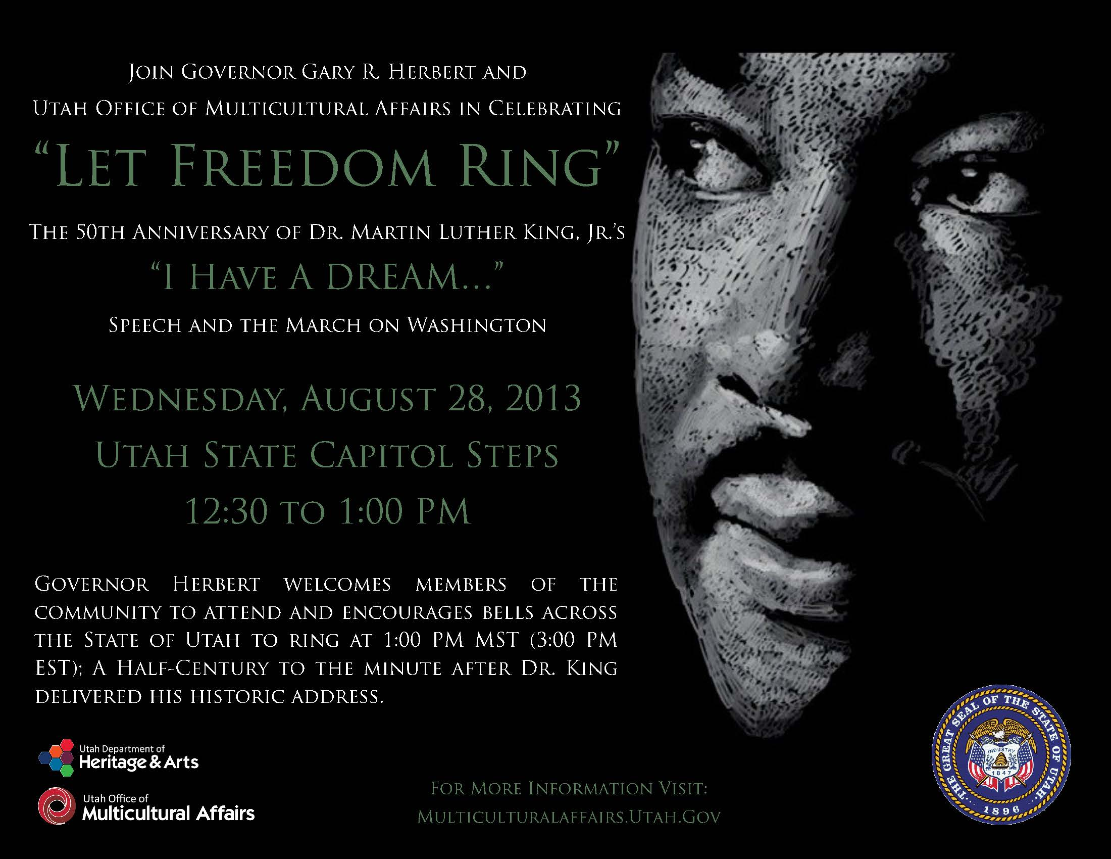 martin luther king jr i have a dream speech date
