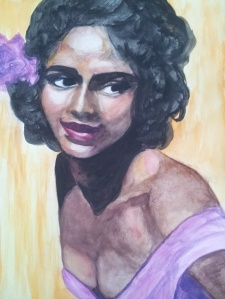 "My  version of  Dorothy Dandridge in ""Carmen"""